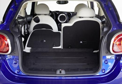 MINI [BMW] Paceman hatchback przestrzeń załadunkowa
