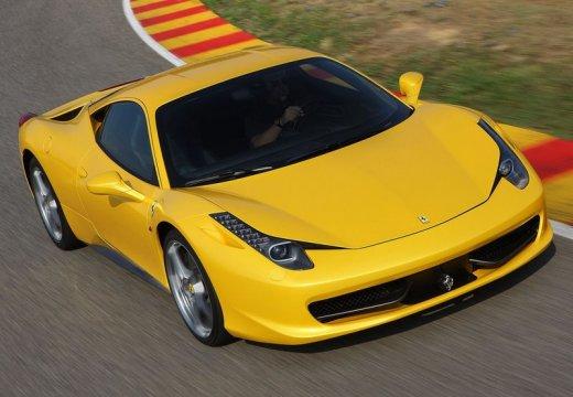 FERRARI 458 I coupe żółty przedni prawy