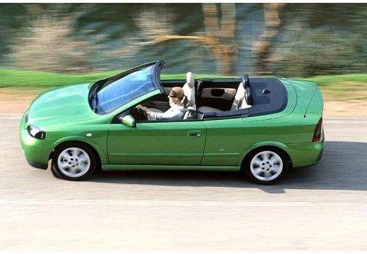 OPEL Astra kabriolet zielony boczny lewy