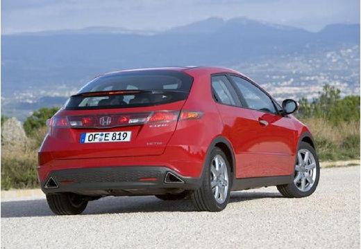 HONDA Civic VI hatchback czerwony jasny tylny prawy