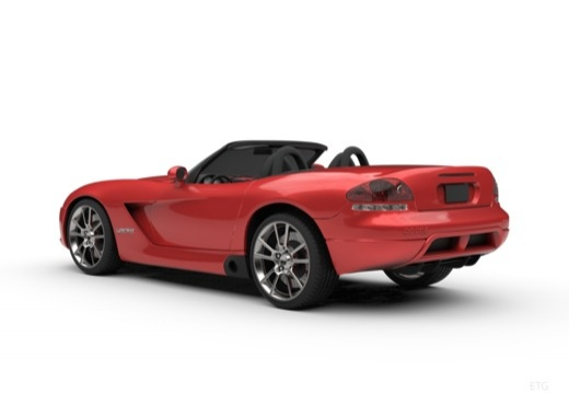 DODGE Viper Roadster coupe tylny lewy