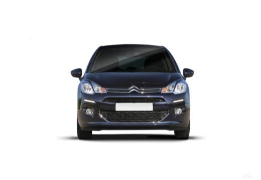 CITROEN C3 II II hatchback czarny przedni