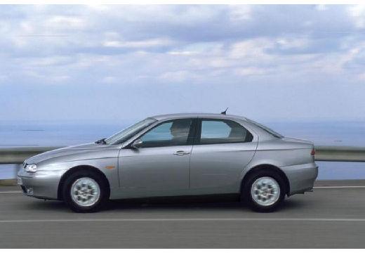 ALFA ROMEO 156 II sedan silver grey boczny lewy