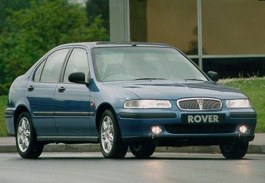 ROVER 400 hatchback niebieski jasny przedni prawy