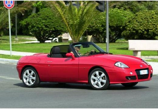 FIAT Barchetta kabriolet czerwony jasny przedni prawy