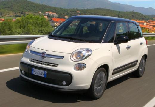 FIAT 500 L I hatchback biały przedni lewy