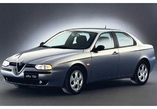 ALFA ROMEO 156 I sedan silver grey przedni lewy