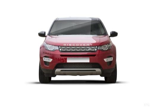 LAND ROVER Discovery Sport I kombi czerwony jasny przedni