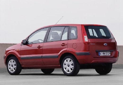FORD Fusion II hatchback czerwony jasny tylny lewy