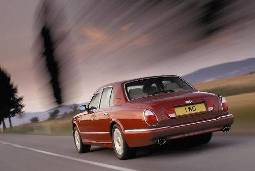 BENTLEY Arnage sedan bordeaux (czerwony ciemny) tylny lewy