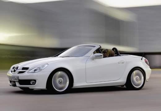 MERCEDES-BENZ Klasa SLK SLK R 171 II roadster biały przedni lewy