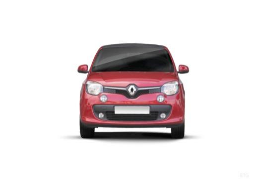 RENAULT Twingo hatchback czerwony jasny przedni