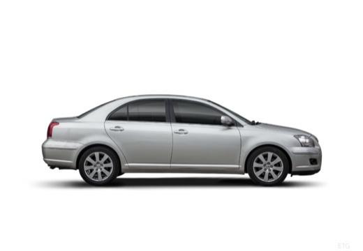 Toyota Avensis IV sedan silver grey boczny prawy