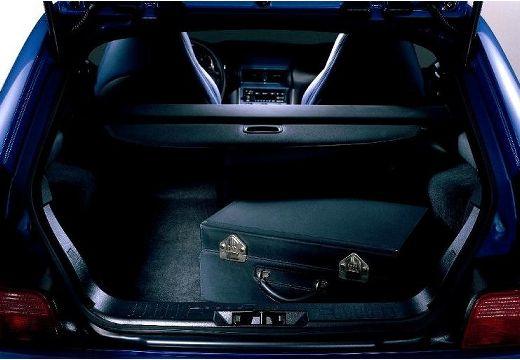 BMW Z3 coupe przestrzeń załadunkowa