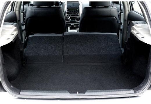 KIA Cerato hatchback silver grey przestrzeń załadunkowa