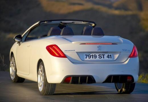PEUGEOT 308 CC I kabriolet biały tylny lewy