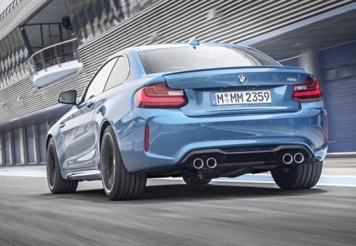 BMW Seria 2 F22 I coupe niebieski jasny tylny lewy