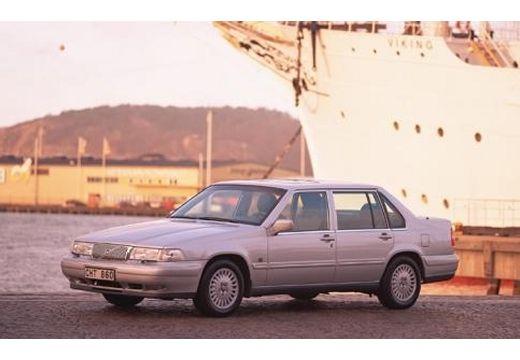 VOLVO 960 sedan silver grey przedni lewy