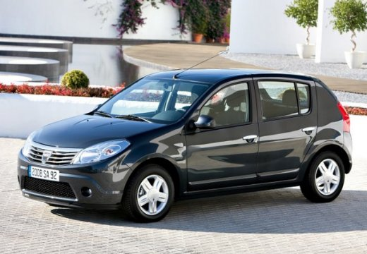 DACIA Sandero 1.6 Laureate BL2 LPG Hatchback I 85KM (benzyna/gaz)