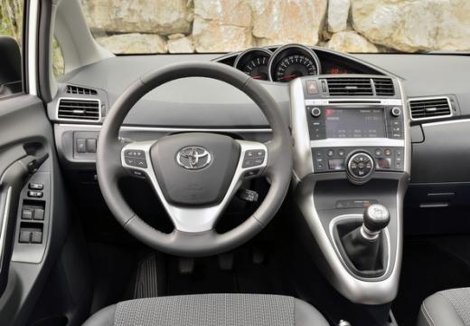 Toyota Verso II kombi mpv tablica rozdzielcza