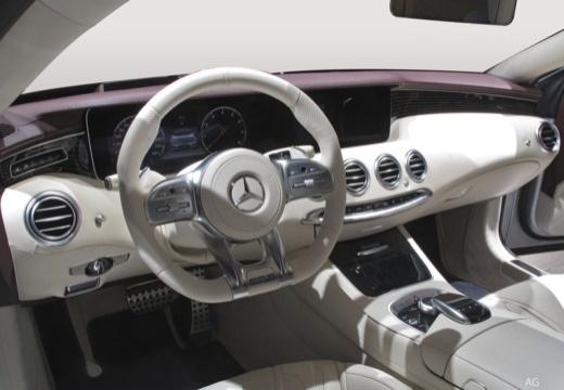 MERCEDES-BENZ S Klasa Coupe coupe tablica rozdzielcza