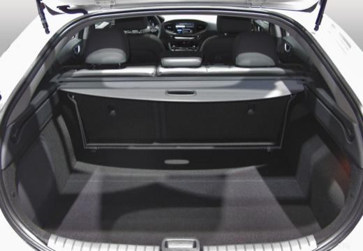 HYUNDAI Ioniq hatchback przestrzeń załadunkowa