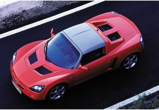 OPEL Speedster roadster czerwony jasny górny przedni