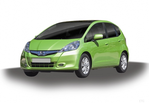 HONDA Jazz hatchback zielony jasny
