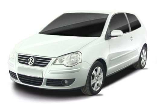 VOLKSWAGEN Polo IV II hatchback biały