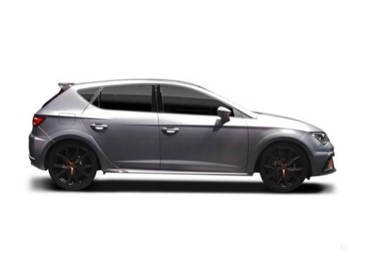 SEAT Leon hatchback boczny prawy
