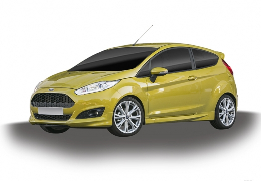 FORD Fiesta VIII hatchback żółty