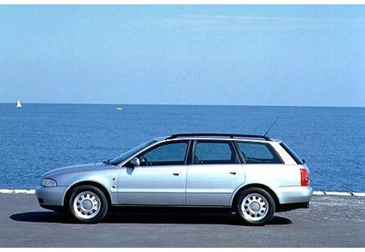 AUDI A4 Avant B5 kombi silver grey boczny lewy