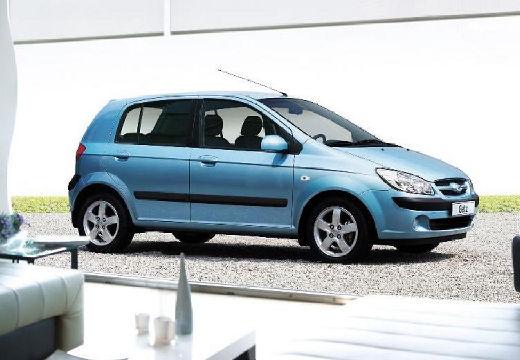HYUNDAI Getz II hatchback niebieski jasny przedni prawy