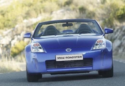 NISSAN 350 Z roadster niebieski jasny przedni