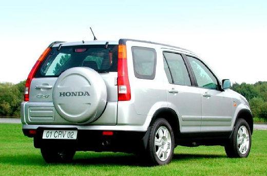 HONDA CR-V II kombi silver grey tylny prawy