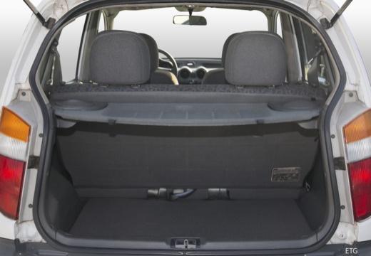 HYUNDAI Atos I hatchback przestrzeń załadunkowa