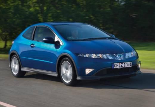 HONDA Civic VII hatchback niebieski jasny przedni prawy