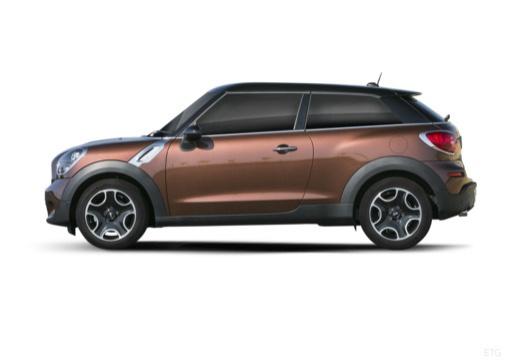 MINI [BMW] Paceman hatchback brązowy boczny lewy