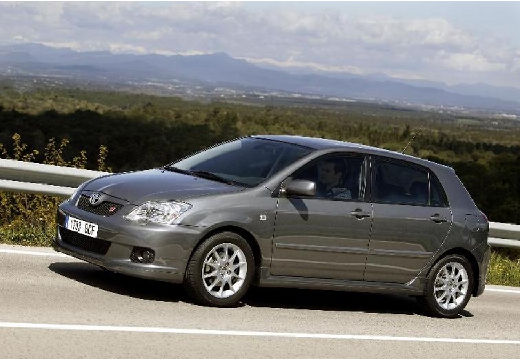 Toyota Corolla VII hatchback szary ciemny przedni lewy