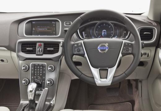 VOLVO V40 IV hatchback czerwony jasny tablica rozdzielcza