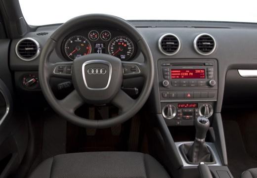 AUDI A3 8P III hatchback tablica rozdzielcza