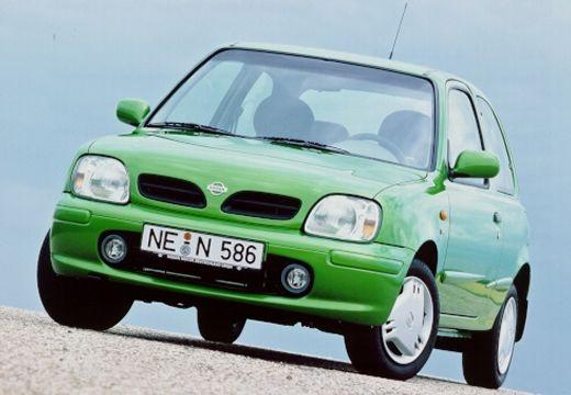 NISSAN Micra III hatchback zielony przedni lewy