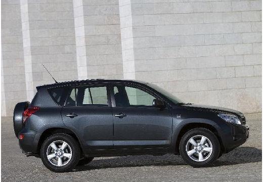 Toyota RAV4 IV kombi czarny boczny prawy