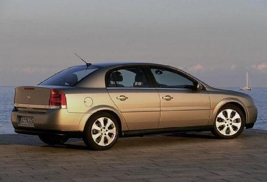 OPEL Vectra sedan silver grey tylny prawy