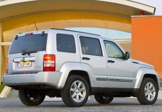 JEEP Cherokee IV kombi silver grey tylny prawy