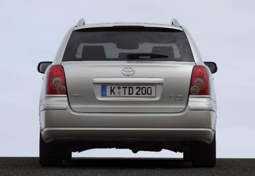Toyota Avensis IV kombi silver grey tylny