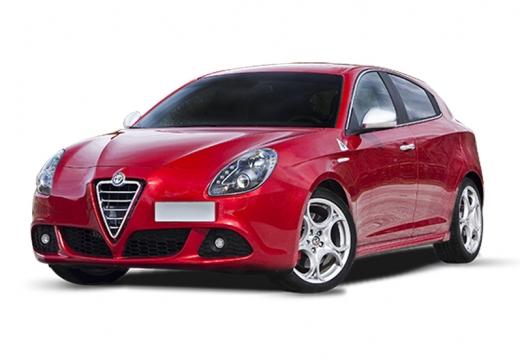 ALFA ROMEO Giulietta II hatchback czerwony jasny