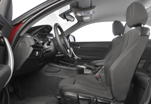 BMW Seria 2 coupe wnętrze