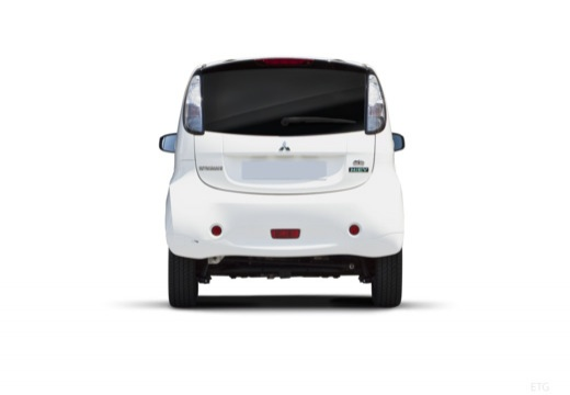MITSUBISHI i-MiEV hatchback biały tylny