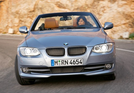 BMW Seria 3 Cabriolet E93 II kabriolet silver grey przedni